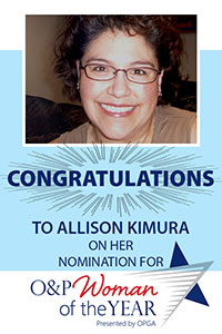 Congrats to Allison Kimura
